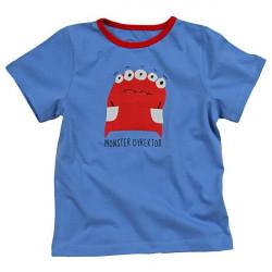 Dětské tričko s krátkým rukávem modré