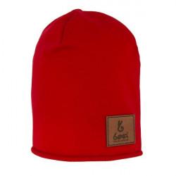 Dětská prodloužená čepice B. Basic Red