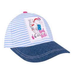 Dětská dívčí kšiltovka Yo! Blue Stripes