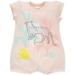 Letní kojenecký overal Pinokio Sweet Panther
