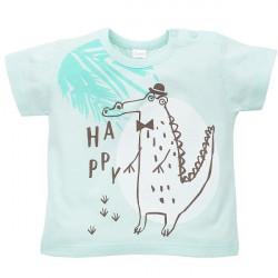 Kojenecké tričko s krátkým rukávem Pinokio Leon