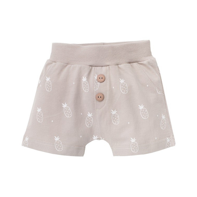Chlapecké kojenecké šortky Pinokio Leon-hnědé