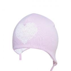 Růžová kojenecká čepice Yo! Cute