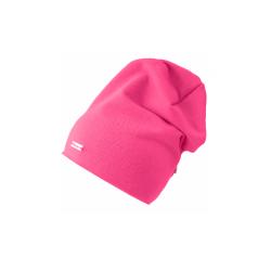 Dětská prodloužená čepice Elma - růžová