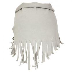 Dětský šátek na krk Pupill Bella - šedý