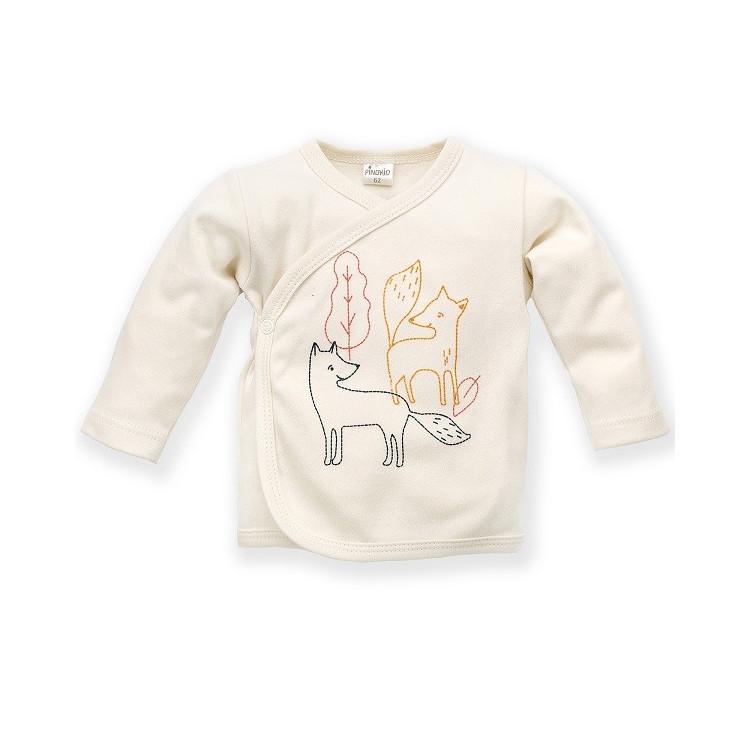 Zavinovací kojenecký kabátek Pinokio Secret Forest