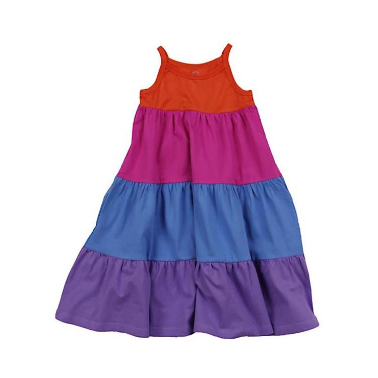 Dětské letní šaty na ramínka ENTENTINO