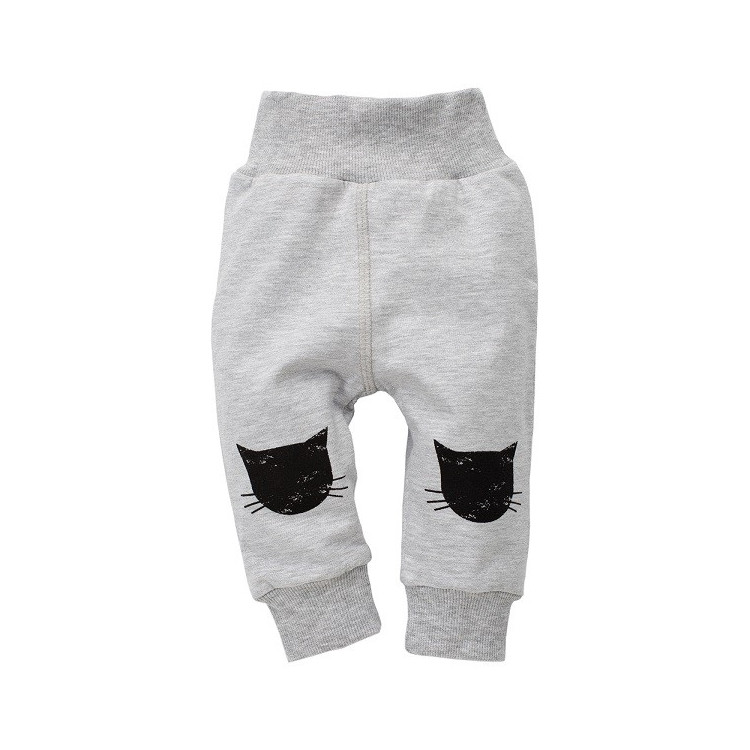 Dětské kalhoty Pinokio Happy day- šedé