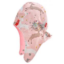Dětská podzimní čepice Minky Lila