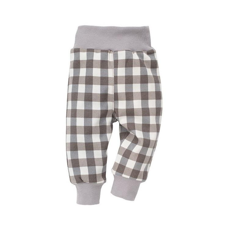 Kojenecké kalhoty Pinokio North - kostkované