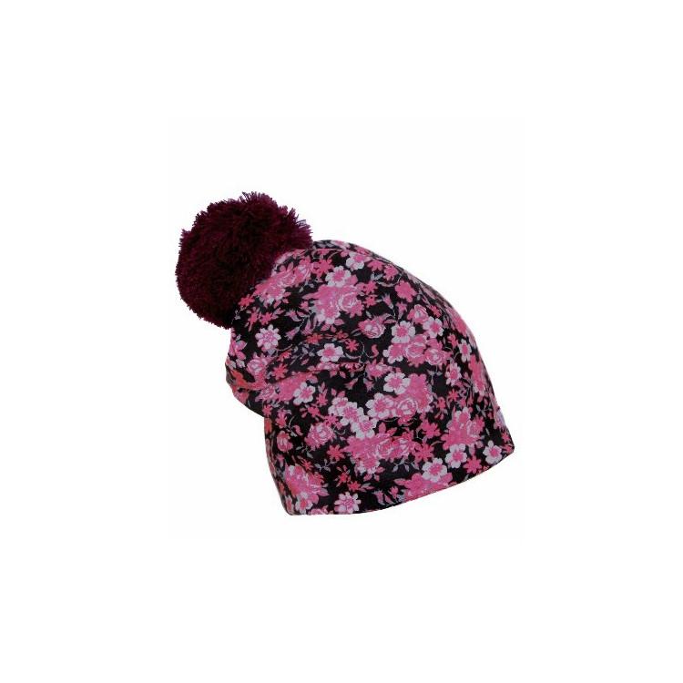 Zimní prodloužená čepice Winter Flower