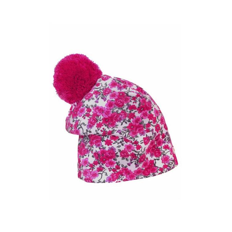 Zimní prodloužená čepice Winter Flower II