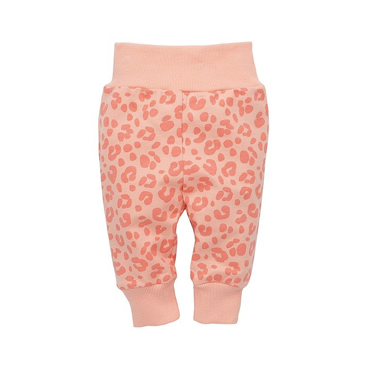Kojenecké kalhoty Pinokio Sweet Panther - růžové