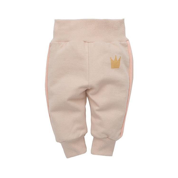 Kojenecké kalhoty Pinokio Sweet Panther - béžové