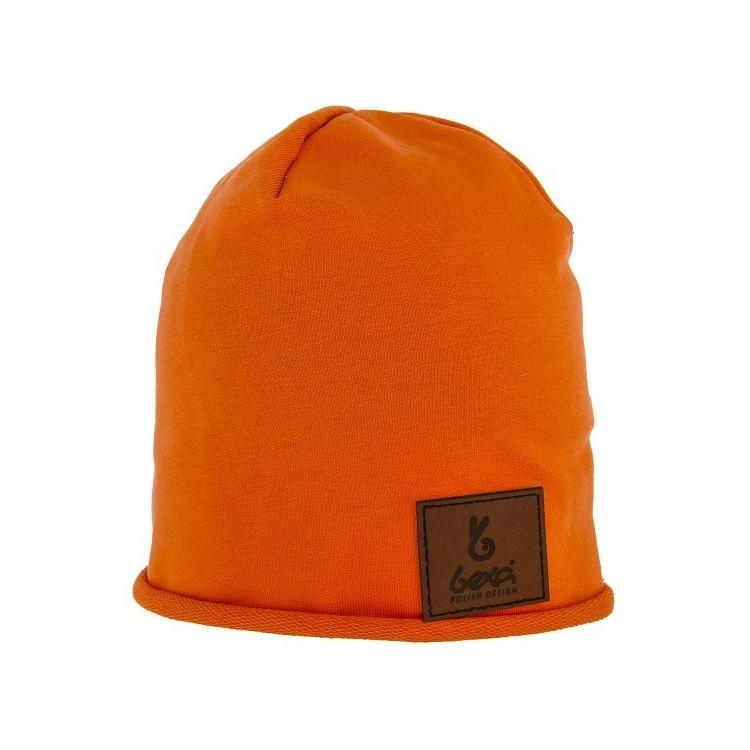 Dětská prodloužená čepice Beanie Basic Orange
