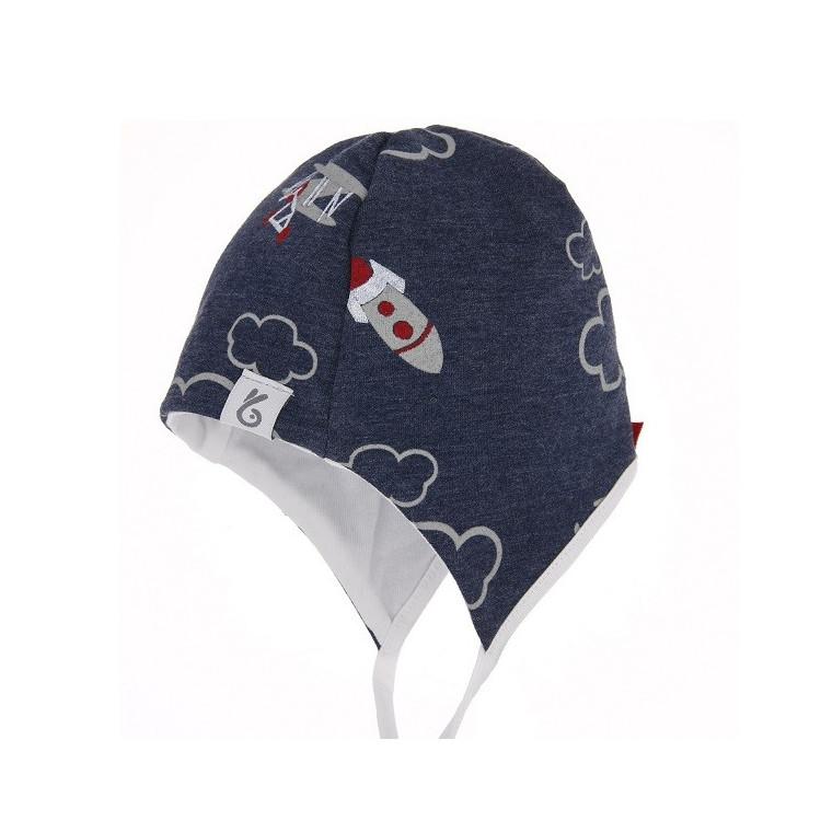 Kojenecká čepice na zavazování Boy I