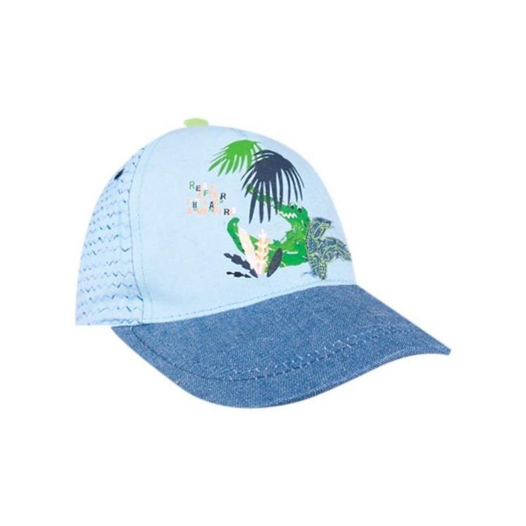 Dětská chlapecká kšiltovka Yo! Plants - modrá
