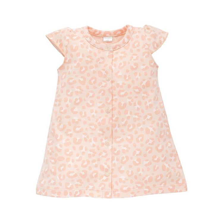 Letní kojenecké šaty s leopardím vzorem Pinokio Sweet Panther