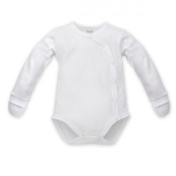 Zavinovací kojenecké body Pinokio White