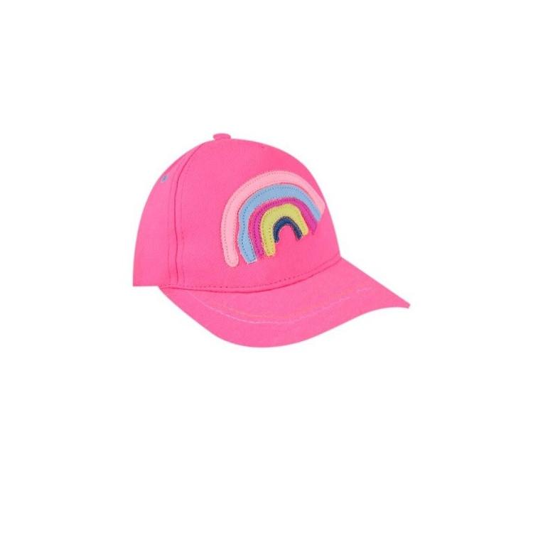 Dětská dívčí kšiltovka Yo! Rainbow Colors- růžová