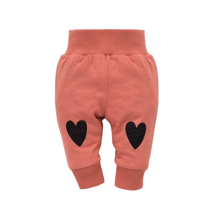 Kojenecké kalhoty Pinokio Little Bird - červené