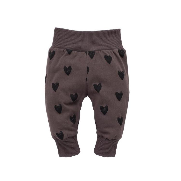 Kojenecké kalhoty Pinokio Little Bird - hnědé