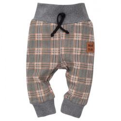 Kojenecké kalhoty Pinokio Bears Club - kárované