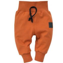 Kojenecké kalhoty Pinokio Bears Club - hnědé