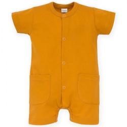 Letní kojenecký overal Pinokio Nice Day Summer- hnědý