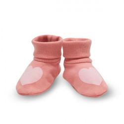 Kojenecké capáčky Pinokio Spring Light - růžové