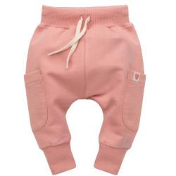 Kojenecké kalhoty se sníženým sedem Pinokio Spring Lights - růžové