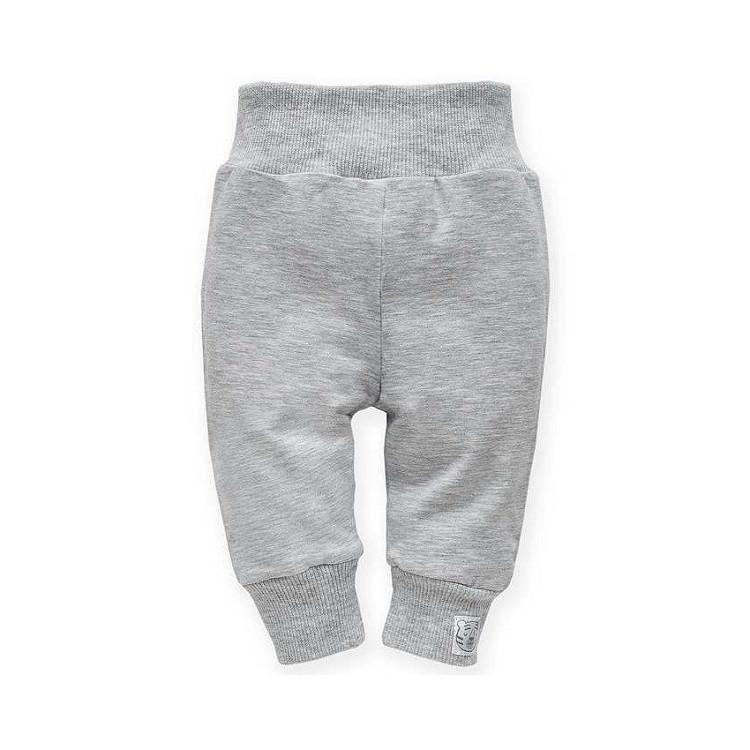 Kojenecké kalhoty Pinokio Wild Animals - šedé