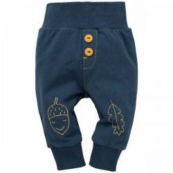 Kojenecké kalhoty Pinokio Secret Forest- modré