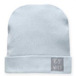 Kojenecká čepice Pinokio Wild Animals - modrá