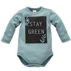 Kojenecké body Pinokio Stay Green - zelené