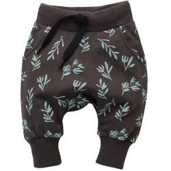 Kalhoty se sníženým sedem Pinokio Stay Green - hnědé