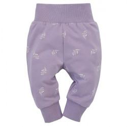 Kojenecké kalhoty Pinokio My Garden - fialové