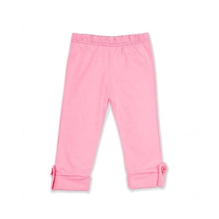 Dívčí ohrnovací legíny PINOKIO Sweet Baby- růžové